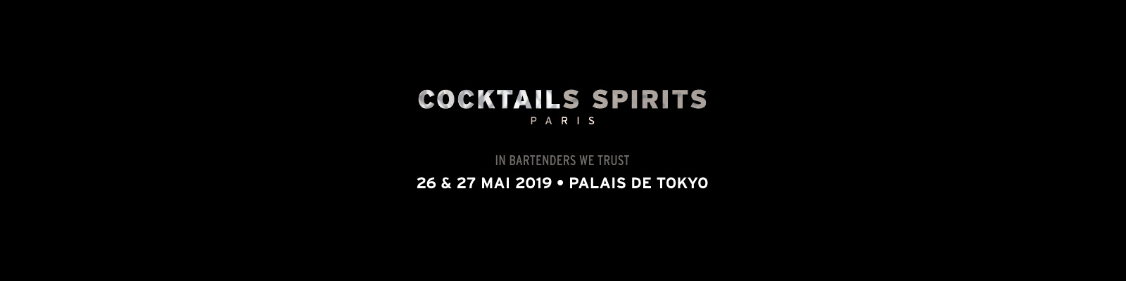 26 et 27 mai 2019 – Salon Cocktails Spirits