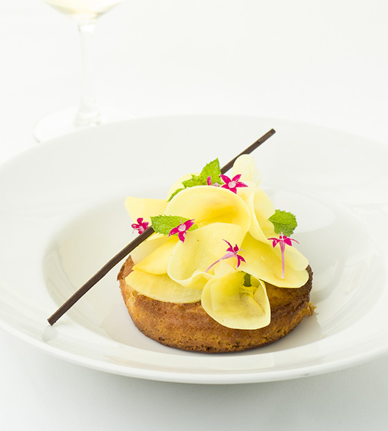 Savarin à la mangue