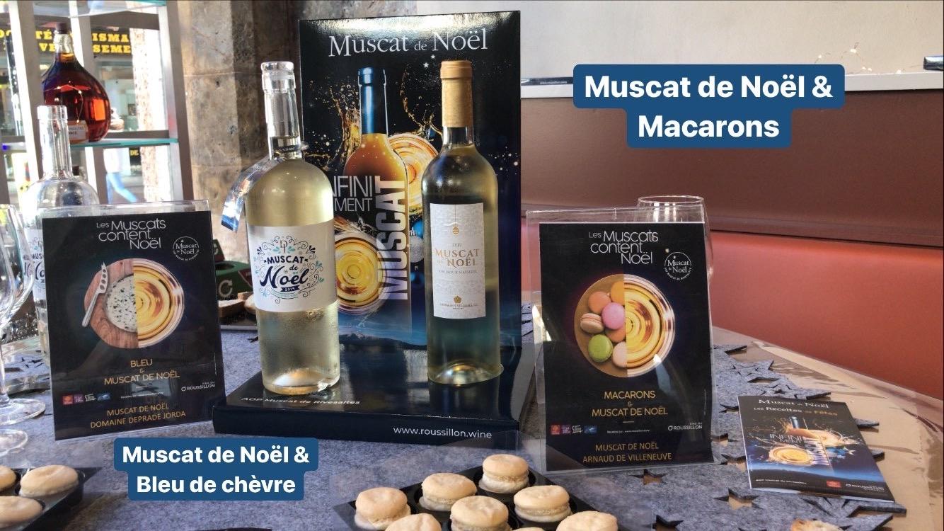 ATELIERS DÉGUSTATION MUSCAT DE NOËL