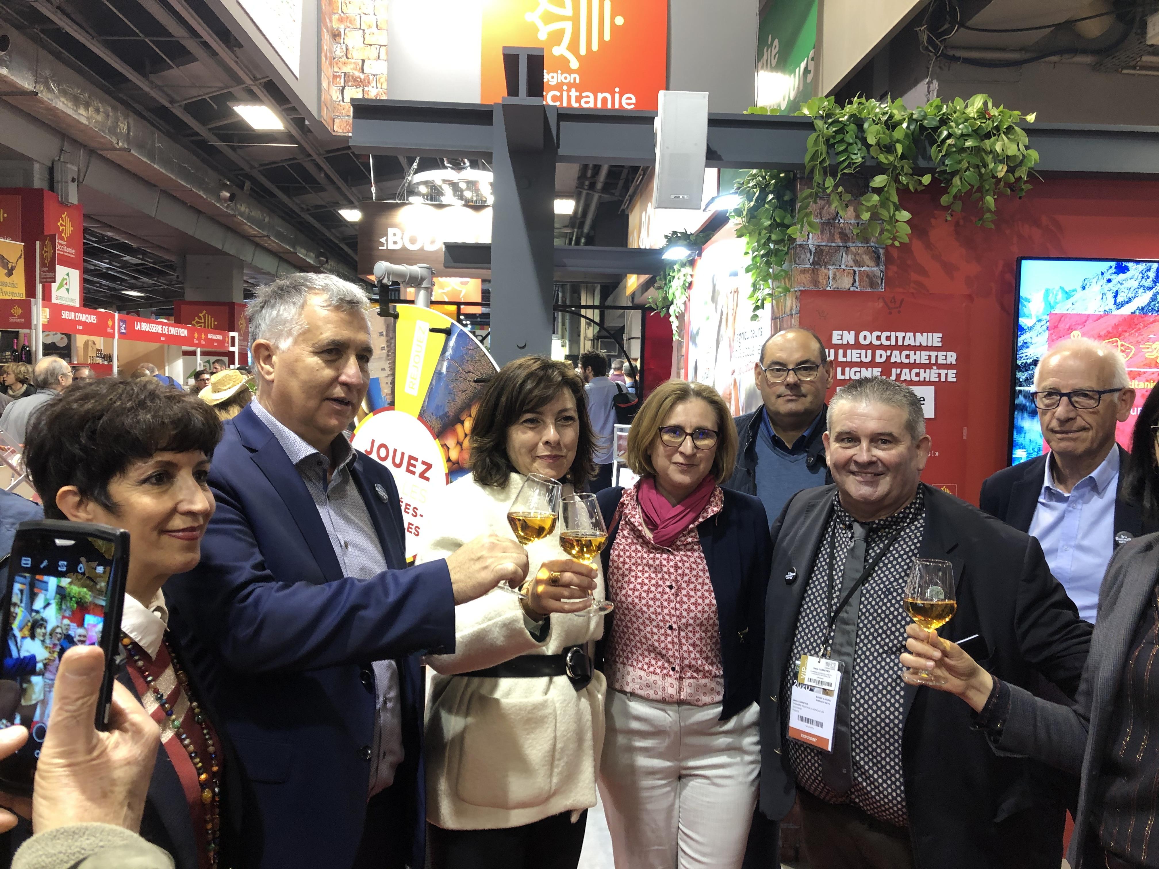 Les Vins du Roussillon au Salon de l'Agriculture