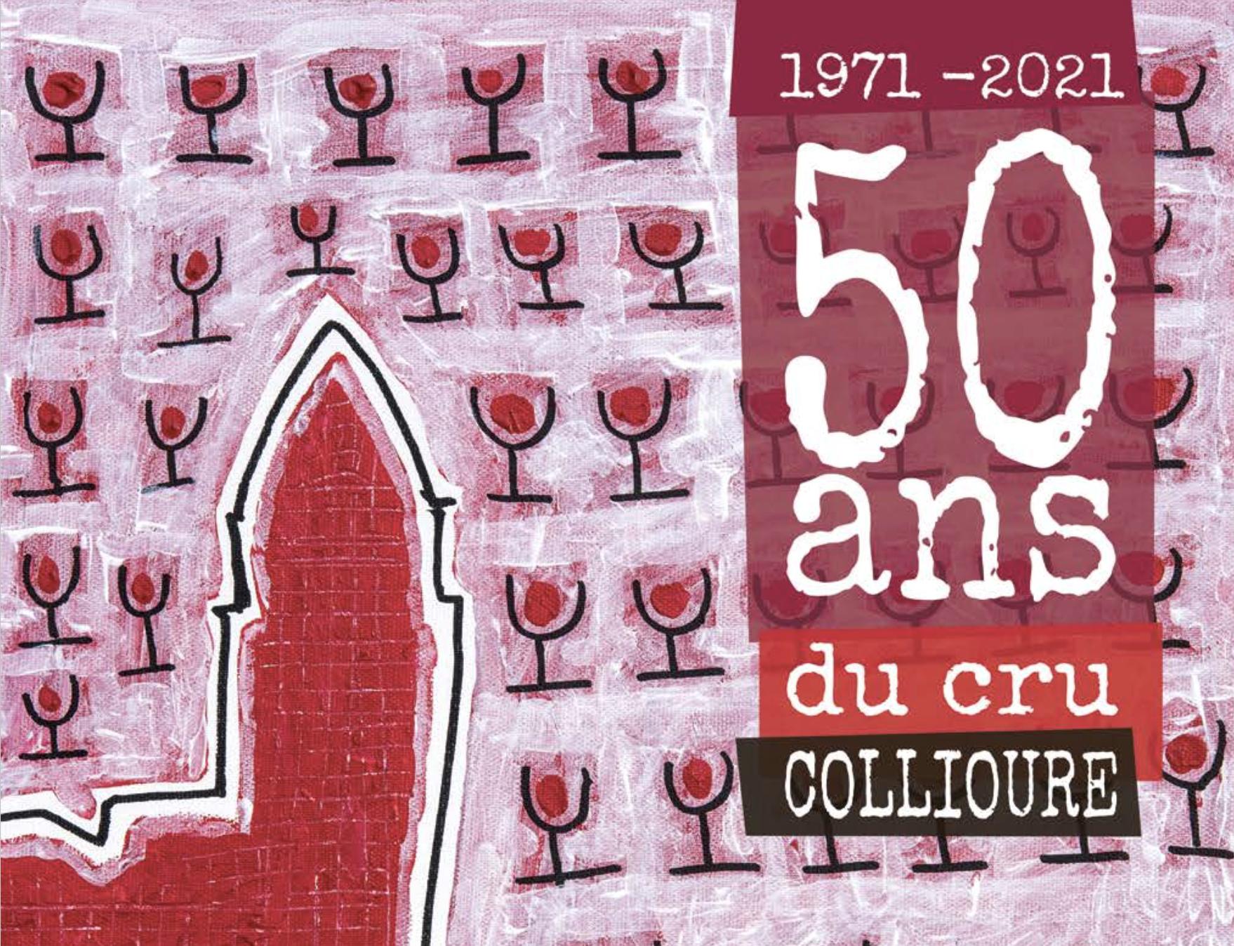50 ANS DE L'AOP COLLIOURE ROUGE